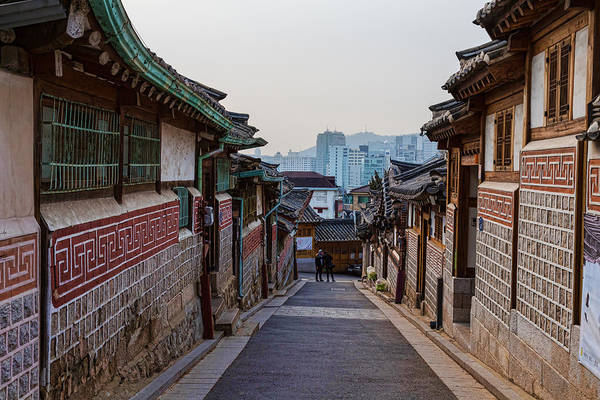 Photograph - Walking Bukchon Hanok Village by James BO Insogna