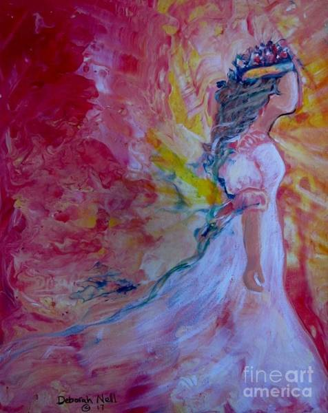 Painting - Walking In Authority by Deborah Nell