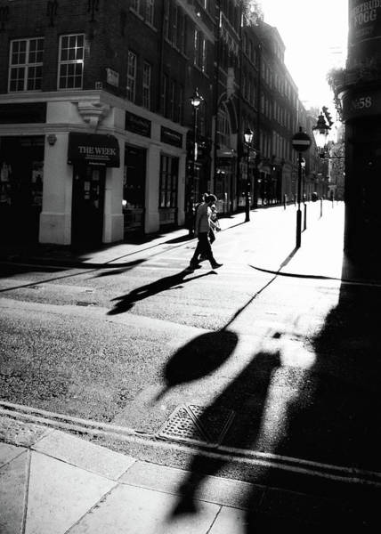 Photograph - Walking In London by Lora Lee Chapman