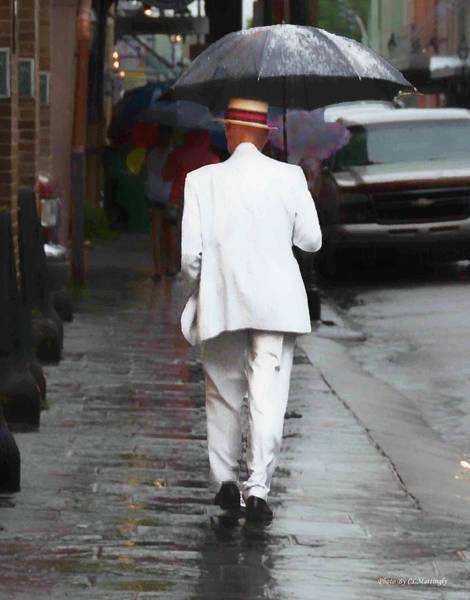 Photograph - Walking In The Rain by Coleman Mattingly