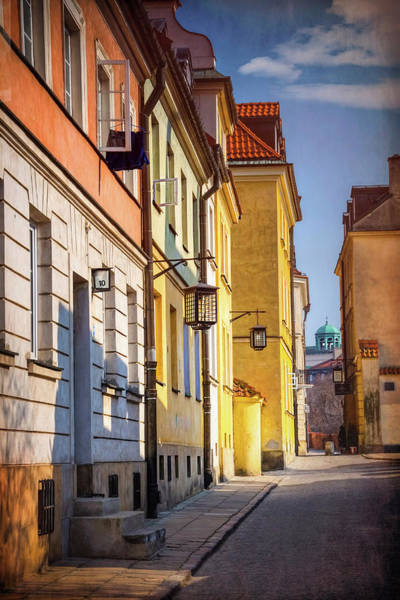 Wall Art - Photograph - Walking In Warsaw Poland  by Carol Japp
