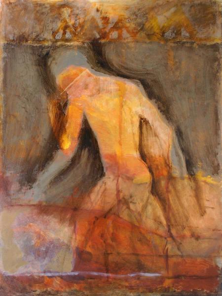 Wall Art - Painting - Walking Man by Ilir Pojani
