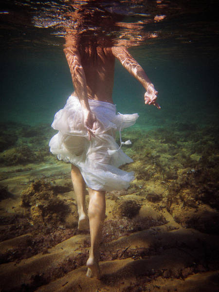 Photograph - Walking Mermaid by Gemma Silvestre