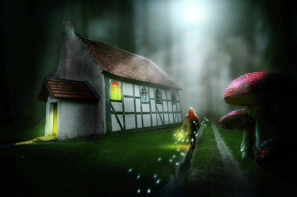 Wall Art - Digital Art - Walking On Magic by Nathan Wright