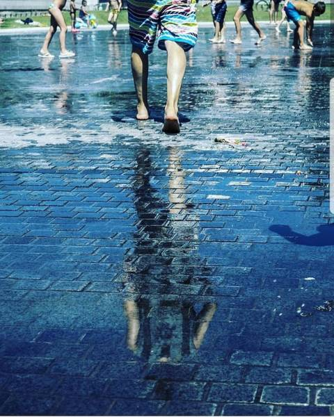 Water Wall Art - Photograph - Walking On The Water by Nerea Berdonces Albareda