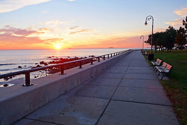 Photograph - Walking Red Rock Park At Sunrise Lynn Shore Drive by Toby McGuire