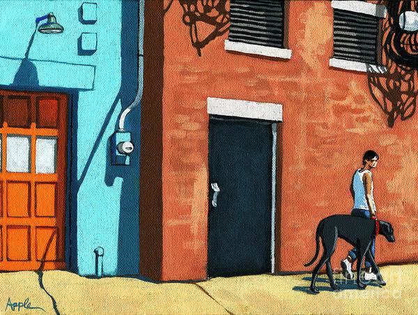 Wall Art - Painting - Walking Tall by Linda Apple
