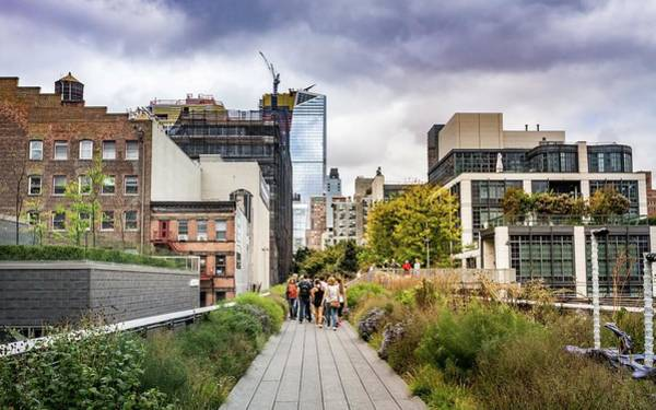 Photograph - Walking The Highline by Framing Places