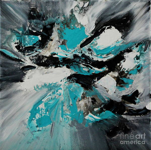 Painting - Walking Wave-3 by Preethi Mathialagan