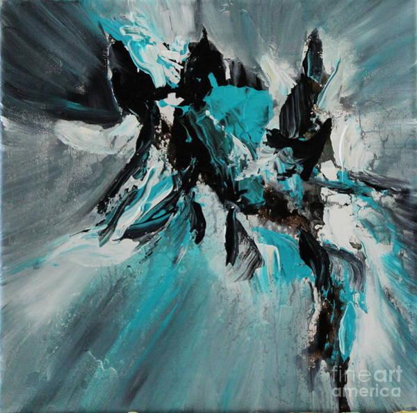 Painting - Walking Waves-2 by Preethi Mathialagan