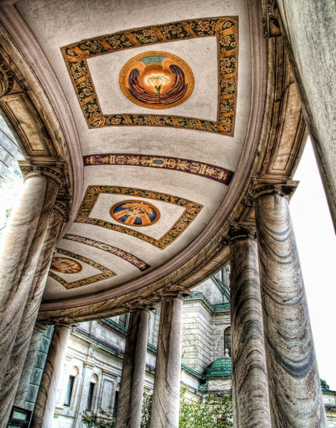 Wall Art - Photograph - Walkway At Our Lady Of Victory by Tammy Wetzel