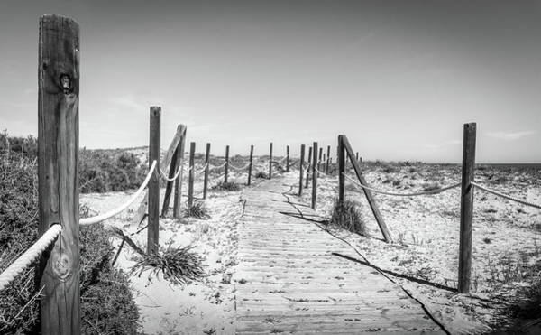 Photograph - Walkway In The Dunes. by Gary Gillette