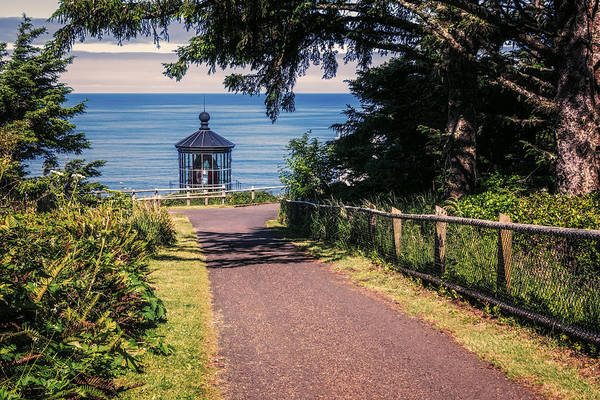 Photograph - Walkway To Cape Meares Lighthouse by Joan Carroll