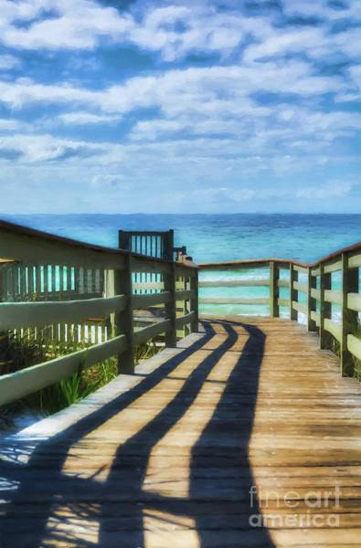 Photograph - Walkway To Rosemary Beach by Mel Steinhauer