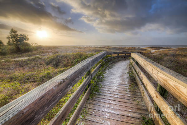 Port St. Joe Photograph - Walkway To Salinas Park Beach  by Twenty Two North Photography
