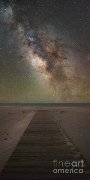 Photograph - Walkway To The Universe  by Michael Ver Sprill