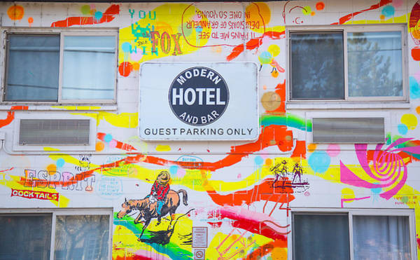 Photograph - Wall Graffiti Art by Dart Humeston
