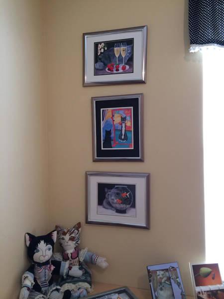 Painting - Wall Grouping 2 Hillarie P by Karen Zuk Rosenblatt