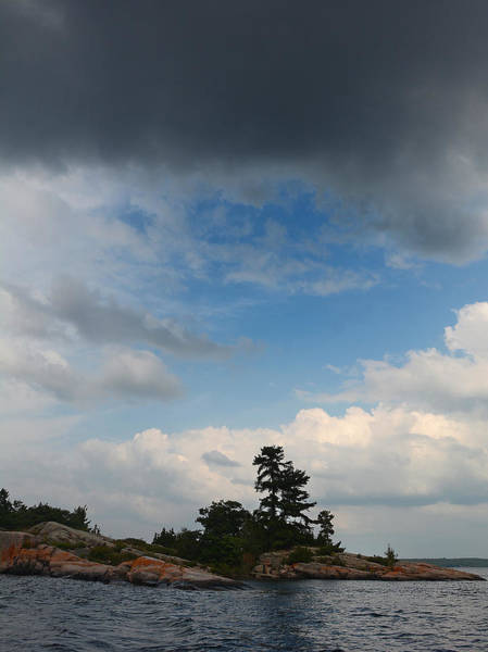 Photograph - Wall Island 3623 Dramatic Sky by Steve Somerville