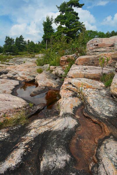 Photograph - Wall Island Rock-3592 by Steve Somerville