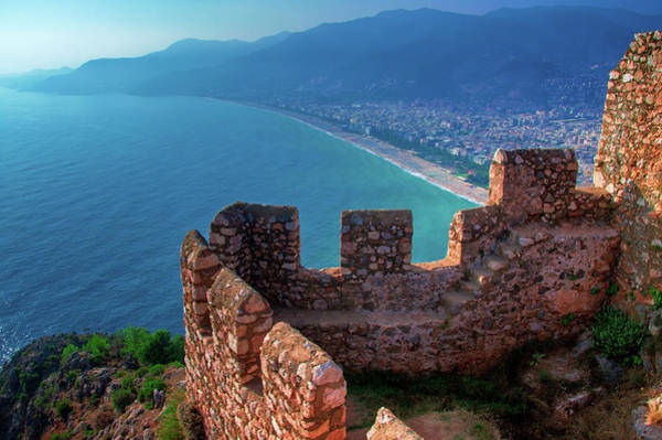 Photograph - Wall Of The Castle Of Alanya by Sun Travels