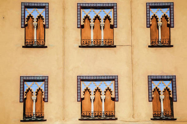 Wall Of Windows Art Print