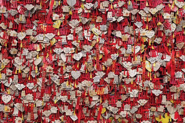 Photograph - Wall Of Wishes by William Dickman