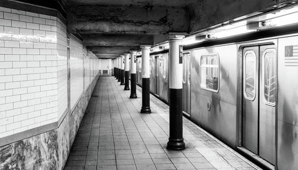 Photograph - Wall Street Subway Station by TL  Mair