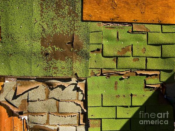 Photograph - Wall Textures by Norman Andrus