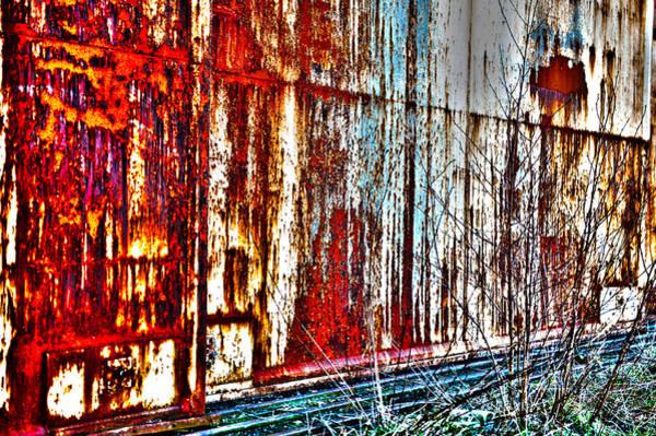 Photograph - Wall With A Story by Randi Grace Nilsberg