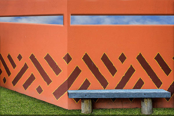 Photograph - Wall With A View by Paul Wear