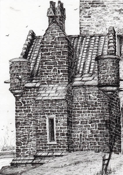 Wallace Monument  The Small House Art Print