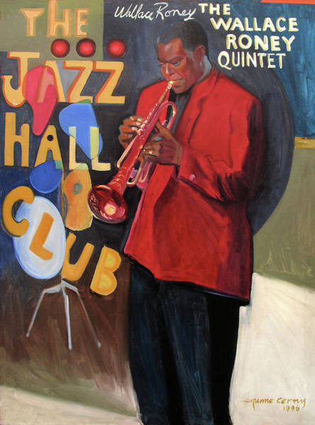 Painting - Wallace Roney by Suzanne Cerny