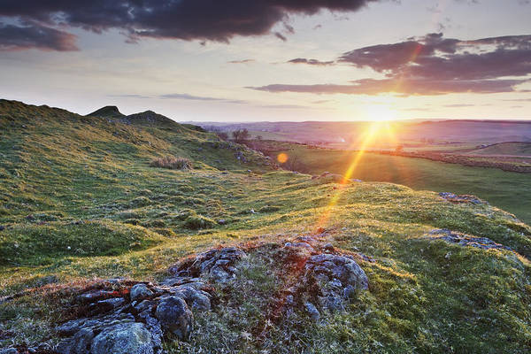 Greenhead Photograph - Walltown Sunset by David Taylor