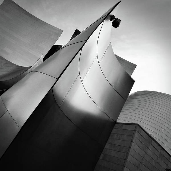 Photograph - Walt Disney Concert Hall by Patrick Malon