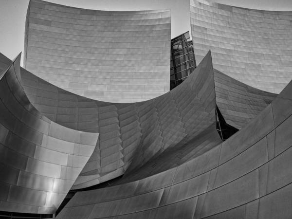 Photograph - Walt Disney Concert Hall Two by Gary Karlsen