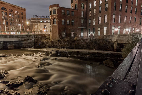 Photograph - Walter Baker Chocolate Factory by Brian MacLean