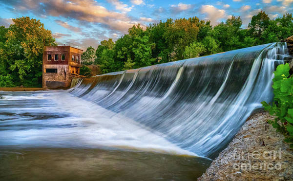 Photograph - Walter Hill Spillway by David Smith