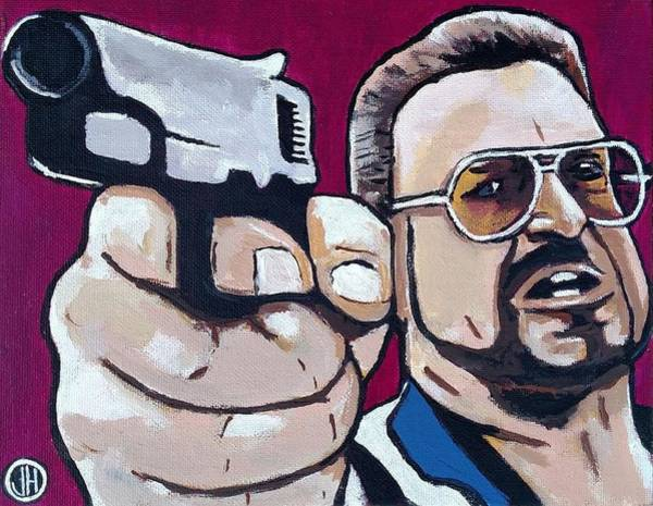 The Big Lebowski Painting - Walter by John Hooser