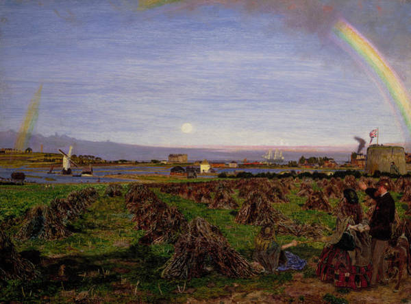 Painting - Walton-on-the-naze by Ford Madox Brown