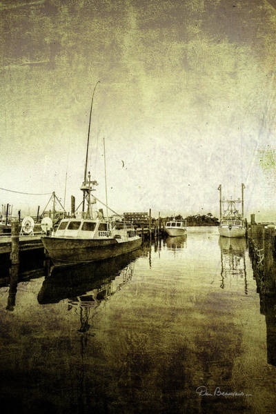 Photograph - Wanchese Harbor 9513 by Dan Beauvais