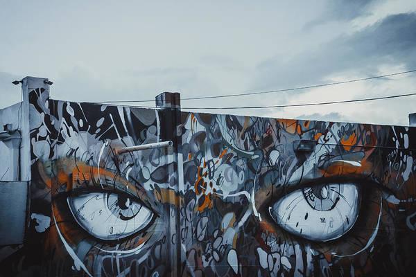 Hammer Head Shark Wall Art - Painting - Wandering Eyes by Alexandra Horta