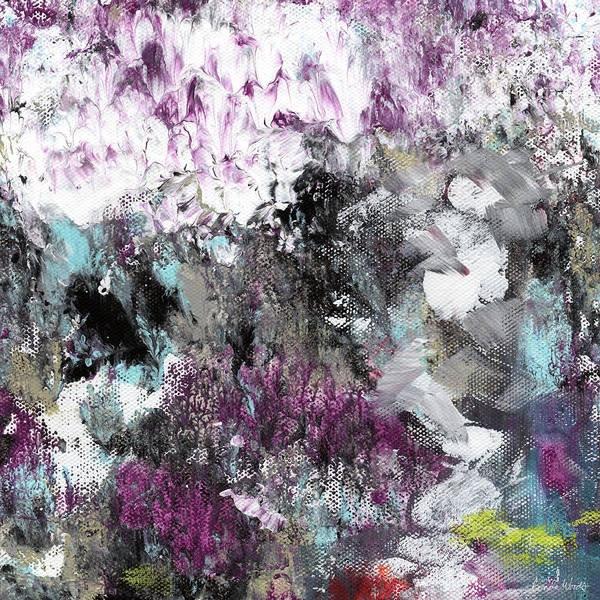 Wall Texture Painting - Wanderlust- Abstract Art By Linda Woods by Linda Woods