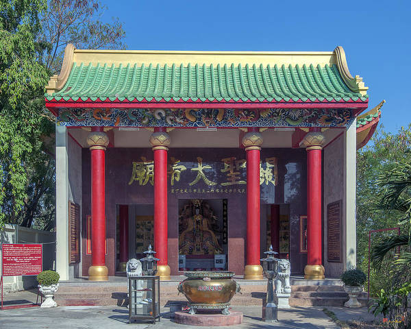 Photograph - Wang Sam Sien Guan Yu Shrine Dthcb0037 by Gerry Gantt