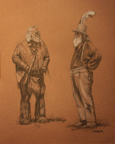 Drawing - Wanna Buy A Hat? by Todd Cooper