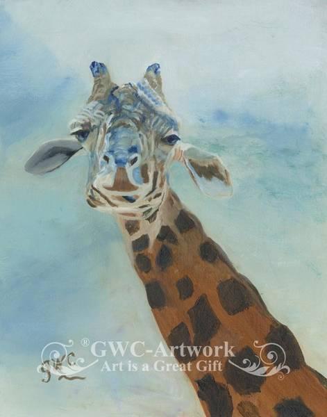 Wall Art - Painting - Wanna Neck by Gloria Condon
