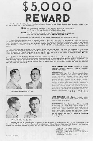 Photograph - Wanted Poster, 1937 by Granger