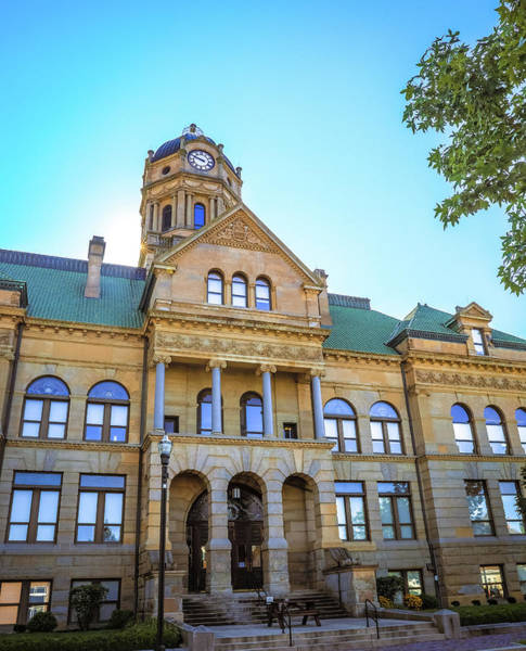 Photograph - Wapakoneta Ohio Court House by Dan Sproul