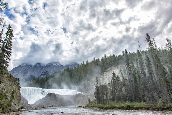 Wall Art - Photograph - Wapta Falls 2 by Monte Arnold