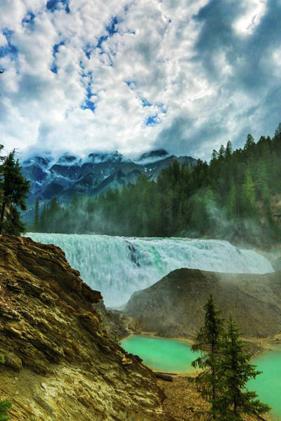 Wall Art - Photograph - Wapta Falls 3 by Monte Arnold